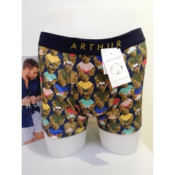 Boxer Teddy Bear Multicolore ARTHUR