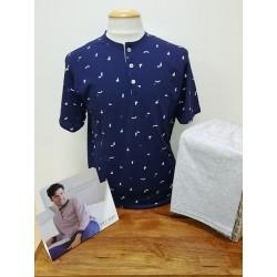 Pyjama Coton Court Navy BIP BIP