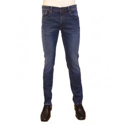 Jean 201 Zip denim stone washed MCS