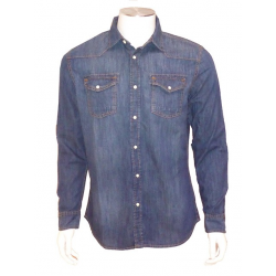 Chemise Western Denim Stone Washed LEE COOPER
