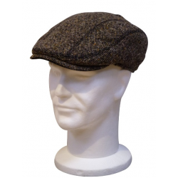 Casquette Chicago Tweed Marron  GOTTMANN