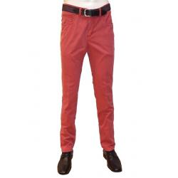 Pantalon toile Rouge LUIGI MORINI