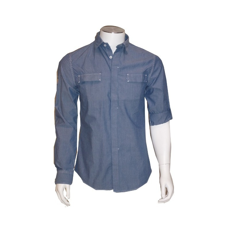 Chemise Gillsta Mood Indigo Chambray Slim Fit LEE COOPER
