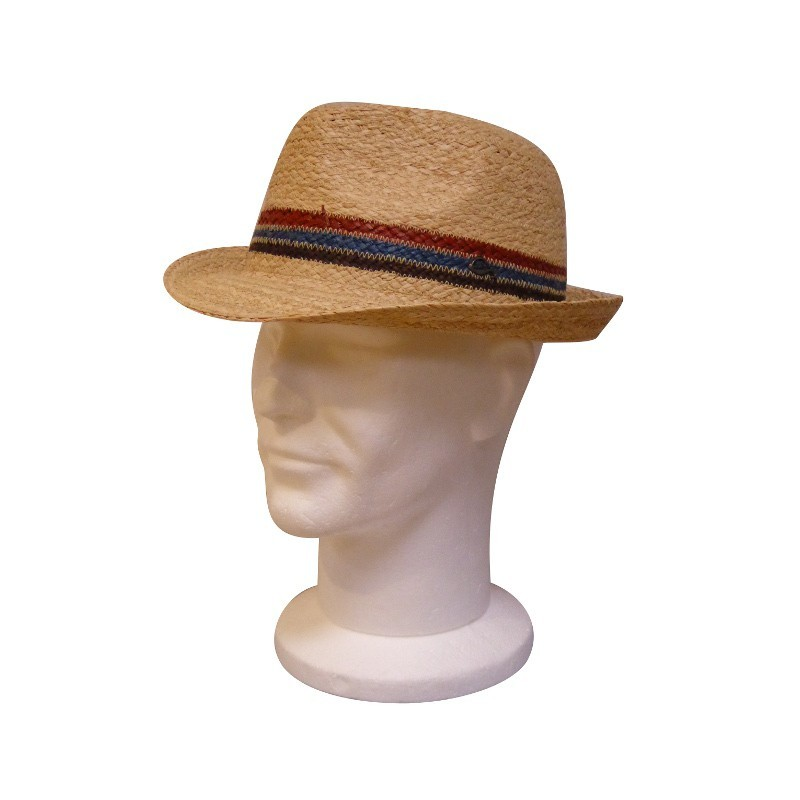Chapeau Raffia Richmond Naturel GOTTMANN