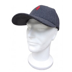 Casquette US Lainage Anthracite MCS